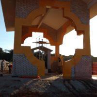 Construção da Capela Nossa Senhora Rosa Mística