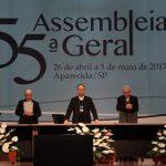 Encerrada a 55ª Assembleia dos bispos da CNBB realizada em Aparecida (SP)