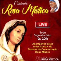 """Cenáculo Rosa Mística - Hoje """"Live"""" Segunda-feira as 20h"""