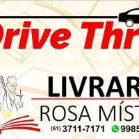 DOMINGO - 09H AS 12H - DRIVE THRU LIVRARIA ROSA MISTICA