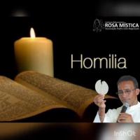 """Homilia do Pe Vanilson """"Maria Rosa Mistica, mãe que nos chama a conversão"""""""